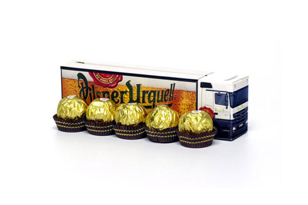 Truckbox Promotional Giftbox - Truck with pralines