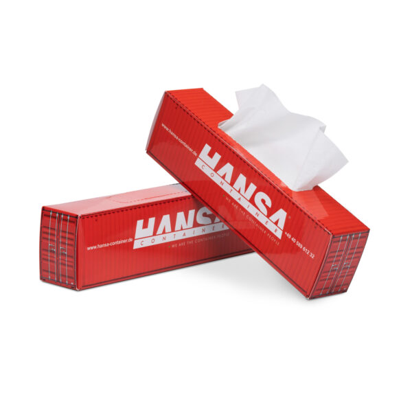 Tissue-box_Promotional_Truckbox_container-Hansa