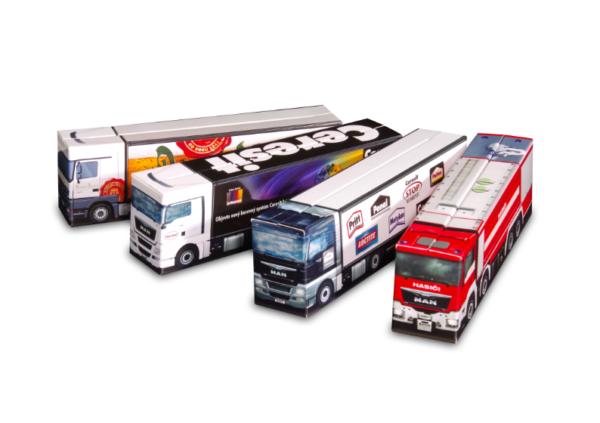 Truckbox Promotional Giftbox fire truck, man