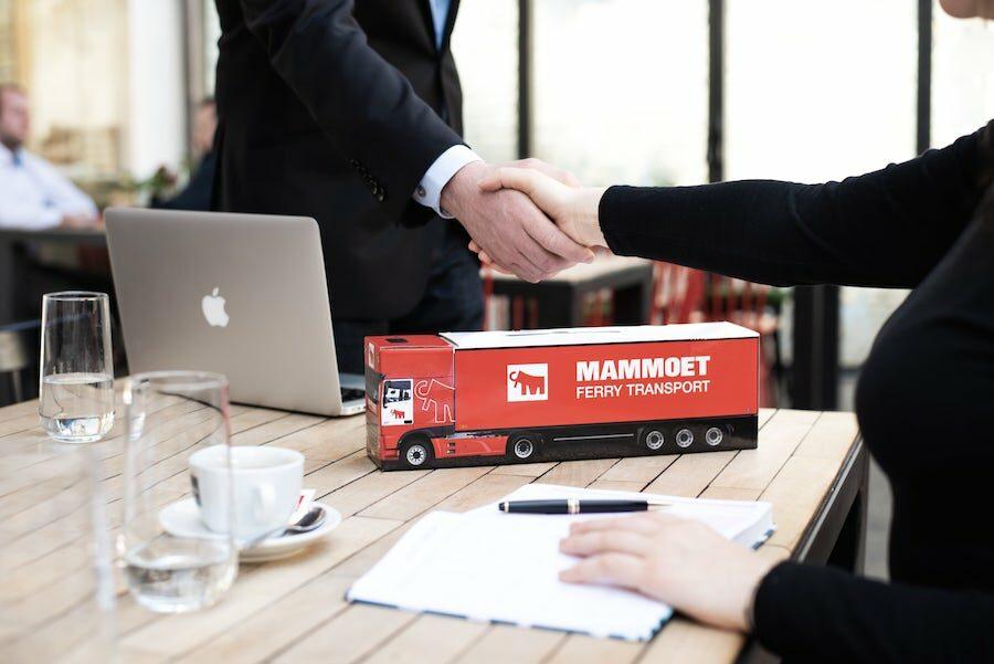 Truckbox Promotional Giftbox – Truck DAF Mammoet Ferry Transport