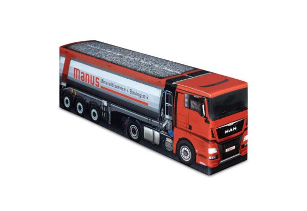 Truckbox Promotional Giftbox – MAN Truck with tipper semitrailer