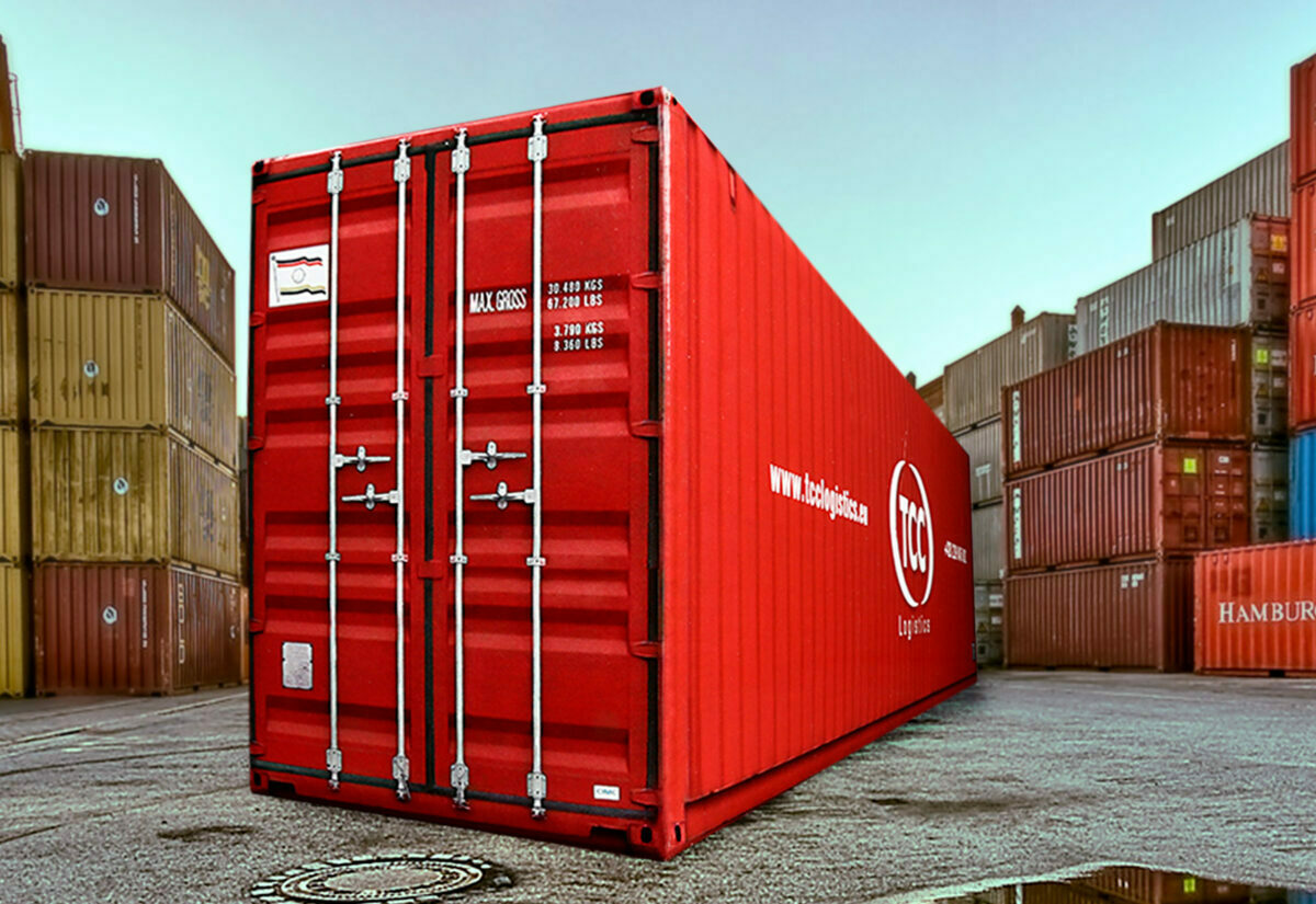 Truckbox Promotional Giftbox Container 40ft, TCC Logistics