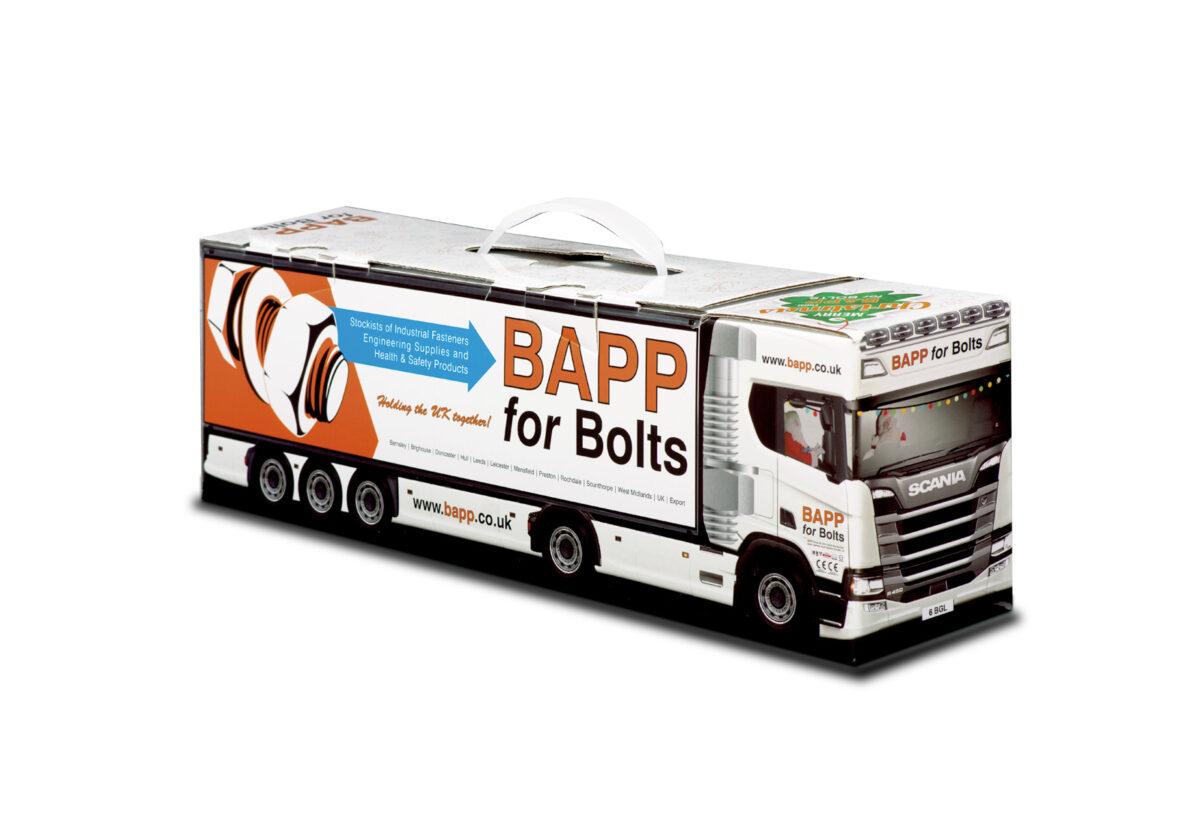 Truckbox Promotional Giftbox – Scania Truck, BAPP