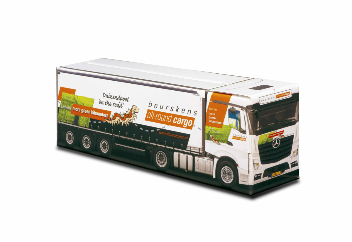 Truckbox Promotional Giftbox – Mercedes Benz Truck, Beurskens All round Cargo