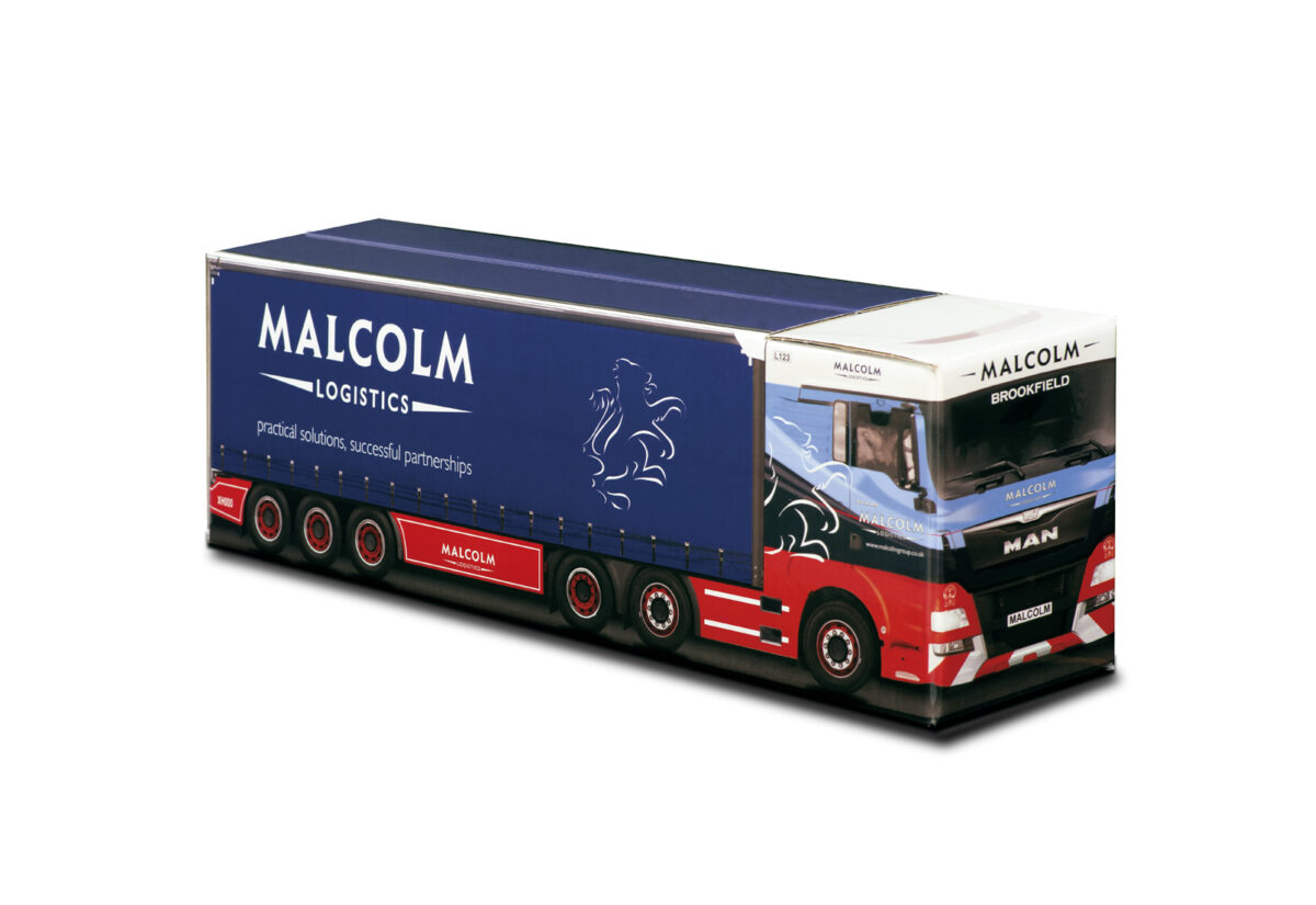 Truckbox Promotional Giftbox – MAN Truck, Malcolm Logistics