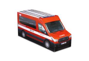 Truckbox Promotional Giftbox – Ford Transit Van, Fire Truck