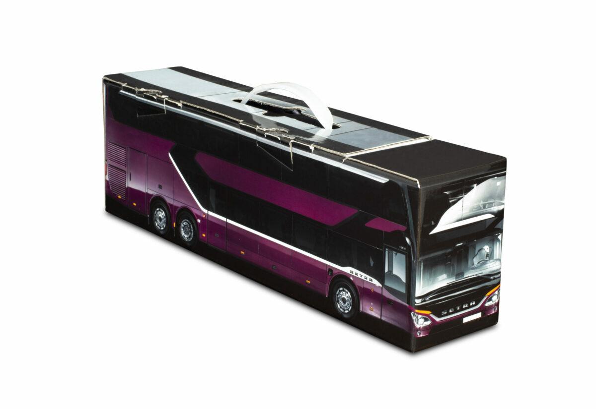 Truckbox Promotional Giftbox Bus Setra S 531 DT Double Decker