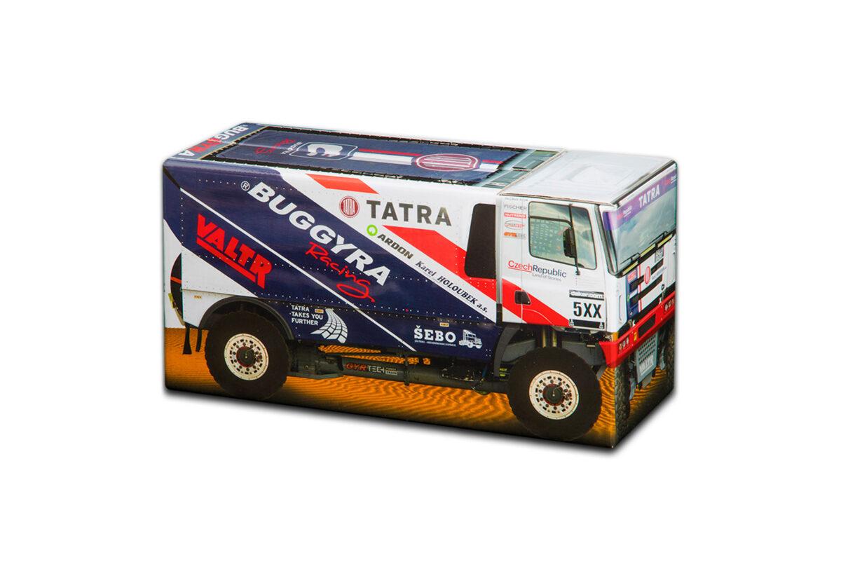Truckbox Promotional Giftbox Truck superstructure, Tatra, Dakar