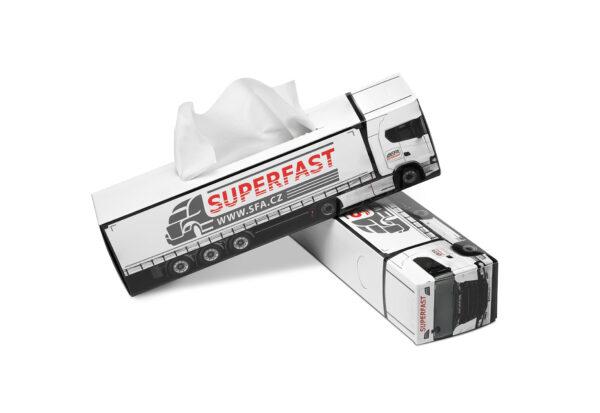 Truckbox Promotional Tissue box – Truck Scania
