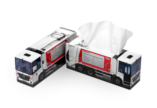 Truckbox Promotional Tissue box – Garbage Truck
