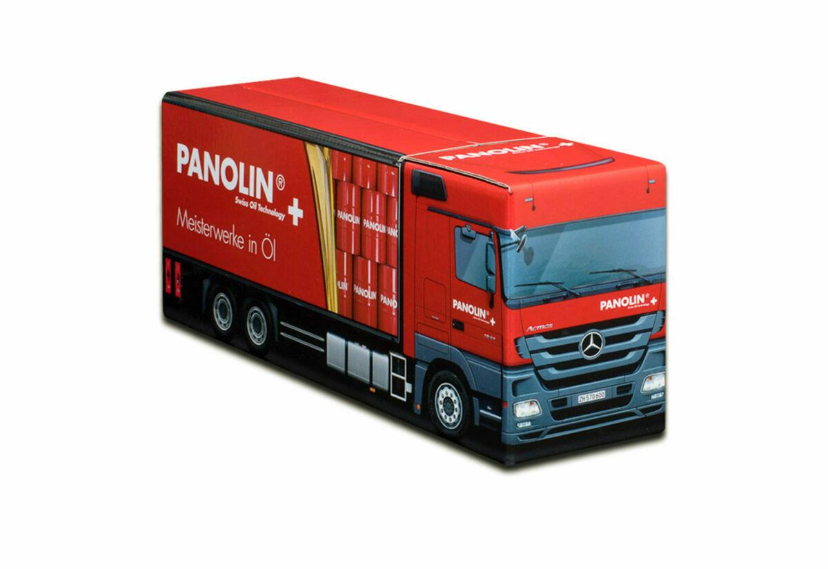 Truckbox Promotional Giftbox Truck superstructure, Mercedes Benz, Panolin