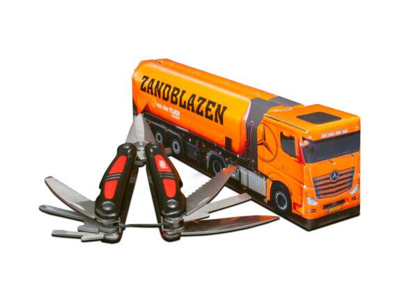 Truckbox Promotional Giftbox tank silo
