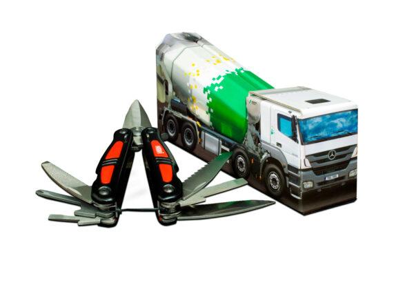 Truckbox Promotional Giftbox concrete mixer