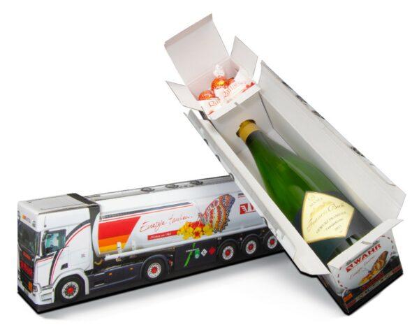 Truckbox Promotional Giftbox fuel tank silo