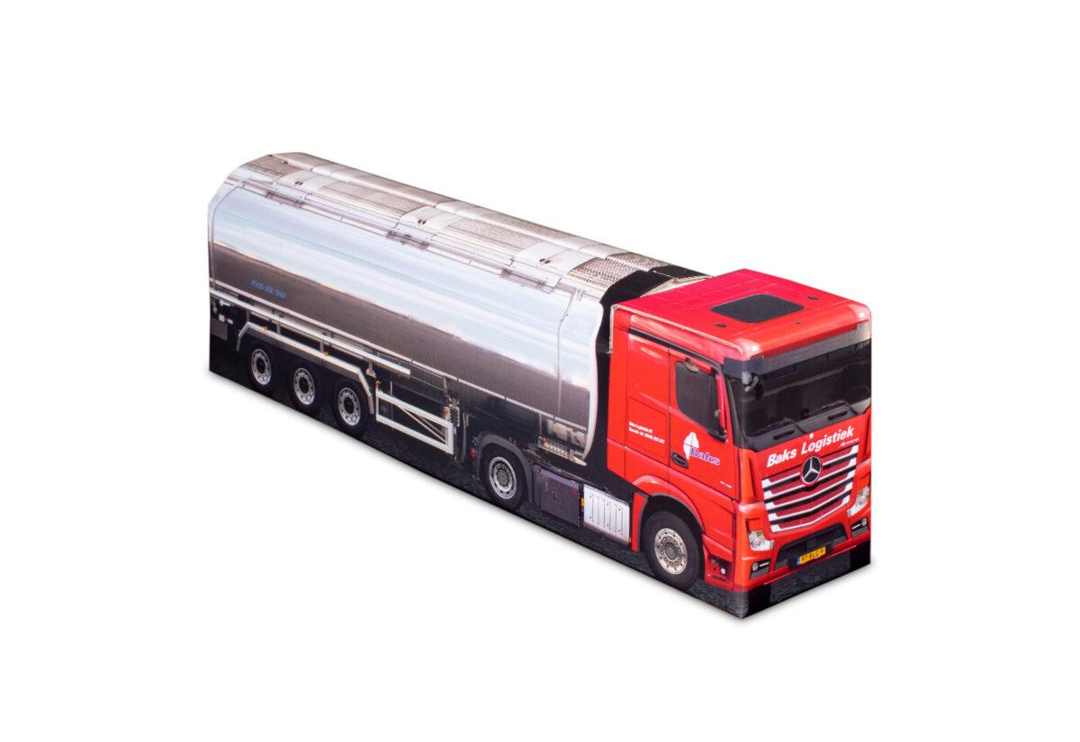 Truckbox Promotional Giftbox - Tank & Silo Truck Mercedes Benz