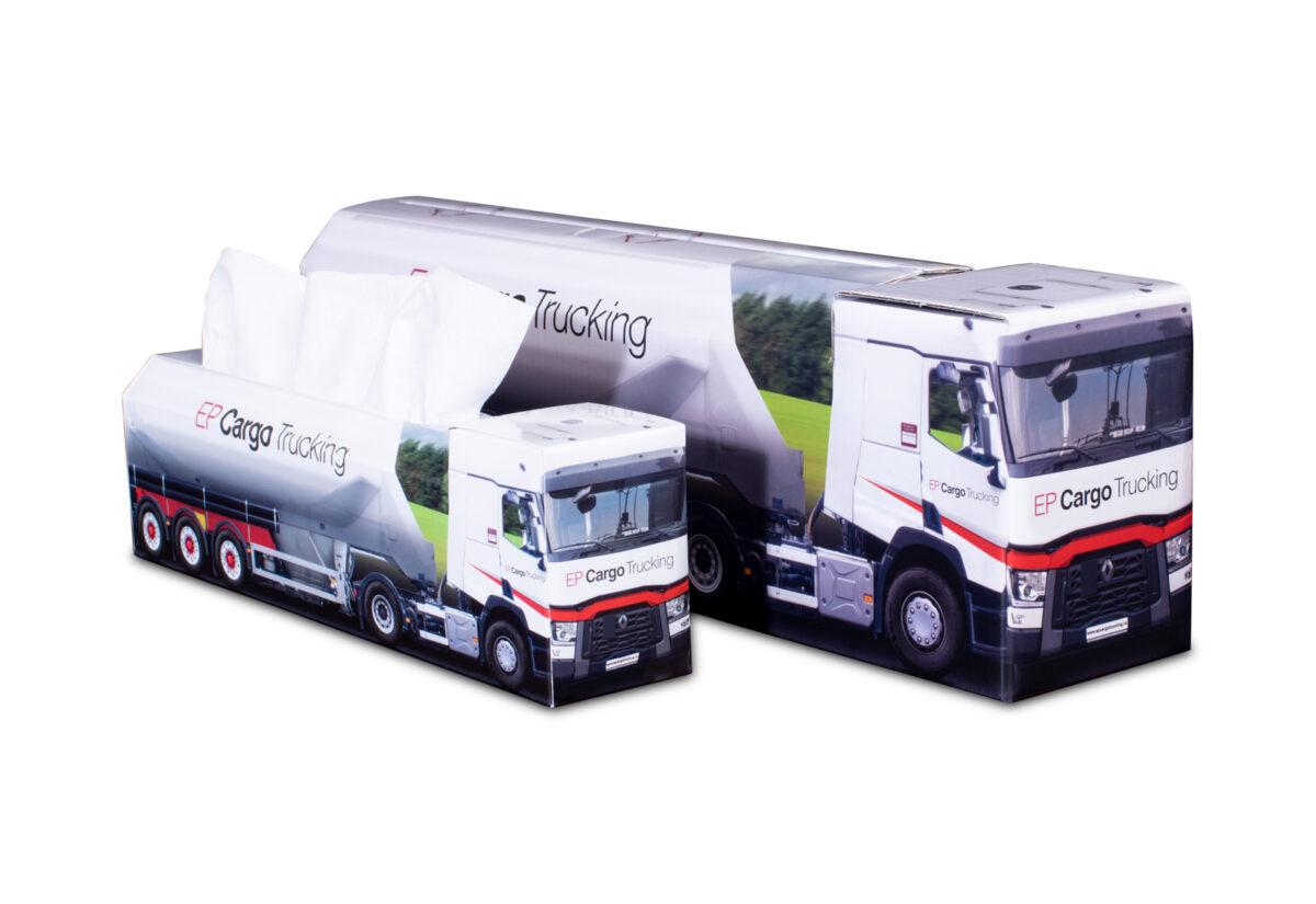 Truckbox Promotional Giftbox - Silo Truck Renault - EP Cargo Trucking