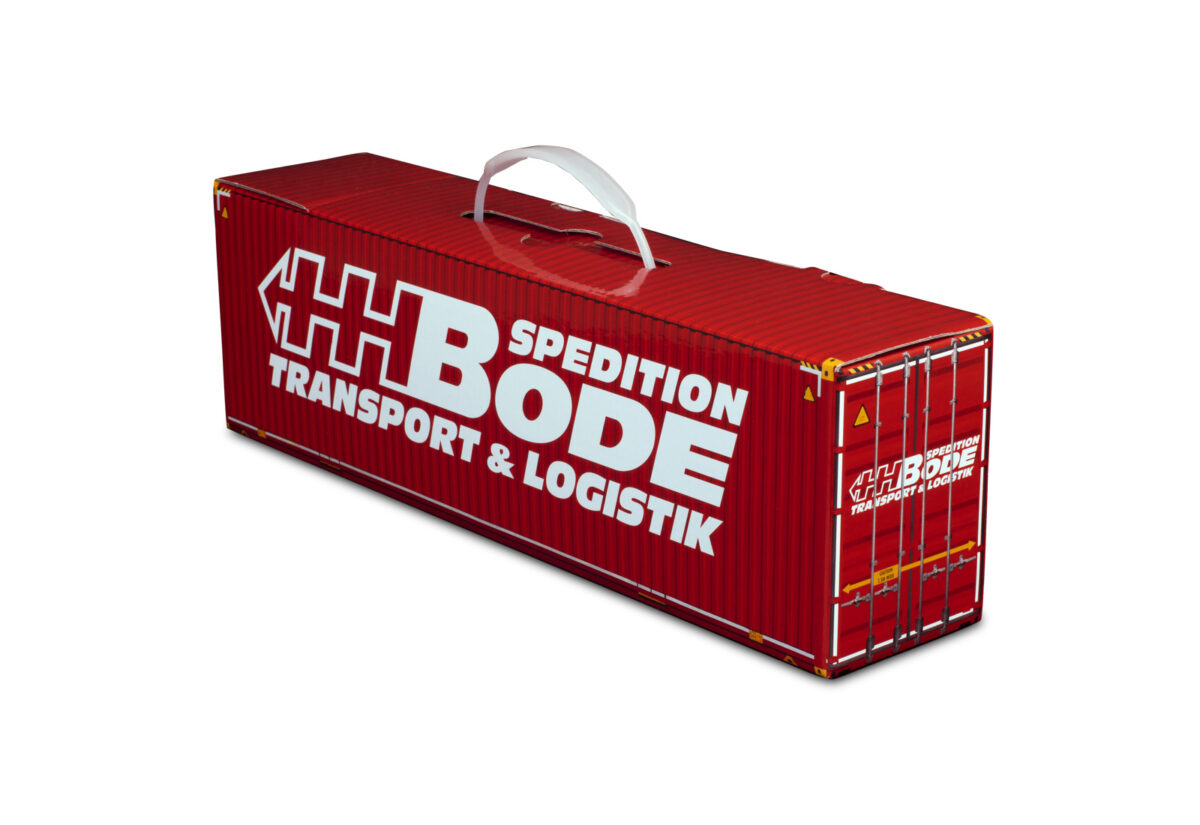 Truckbox Promotional Giftbox Container 40ft, HH BODE Spedition, Transport & Logistik