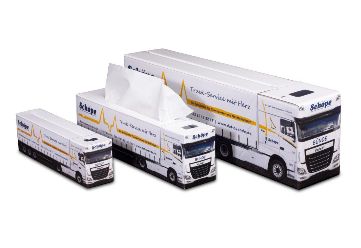 Truckbox Promotional Giftbox – DAF Truck, Schöpe
