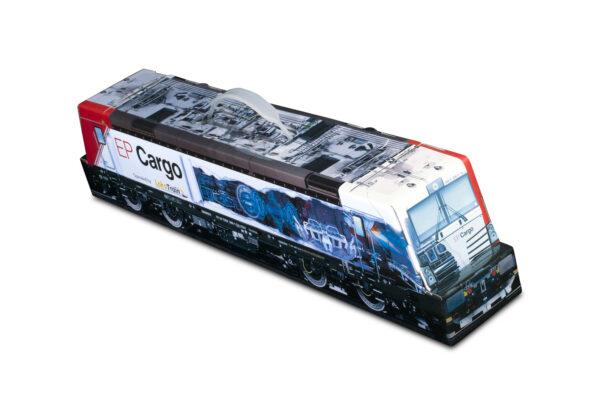 Truckbox Promotional Giftbox - locomotive, train