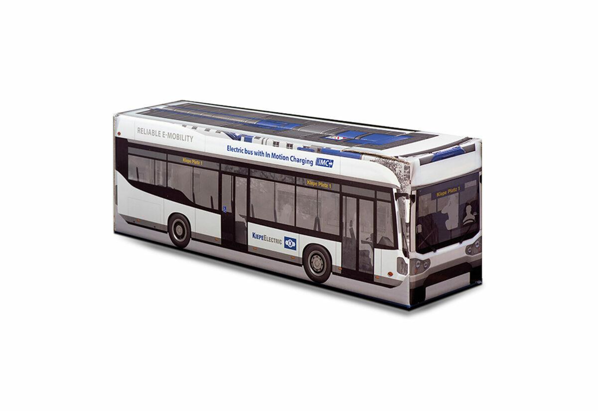 Truckbox Promotional Giftbox Elekctric Bus Kiepe Elektric