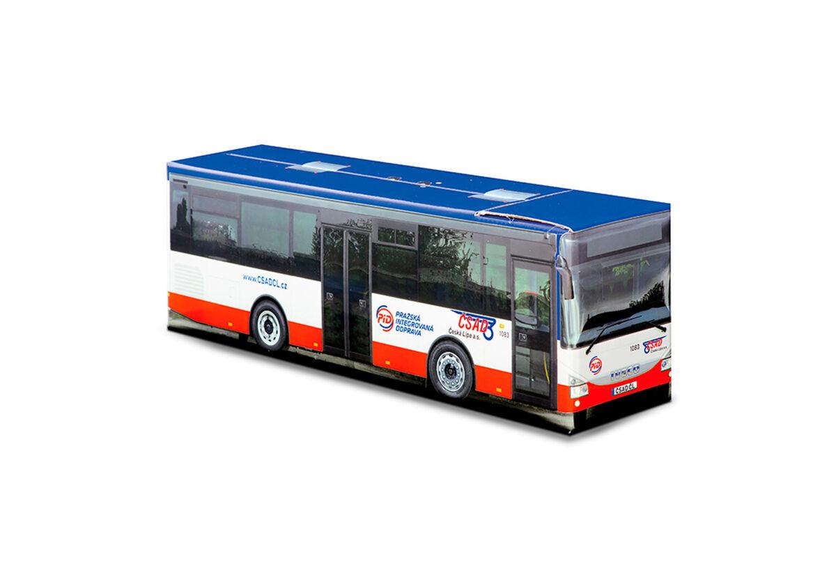Truckbox Promotional Giftbox Bus Iveco Crossway - ČSAD Česká Lípa