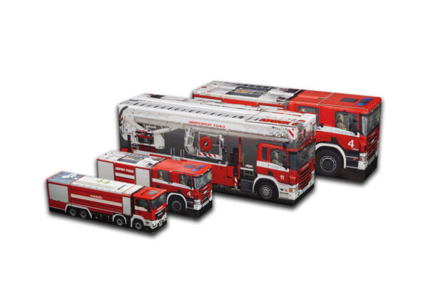 Truckbox Promotional Giftbox - Fire Trucks