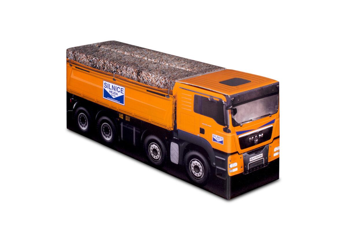 Truckbox Promotional Giftbox – MAN Tipper Truck