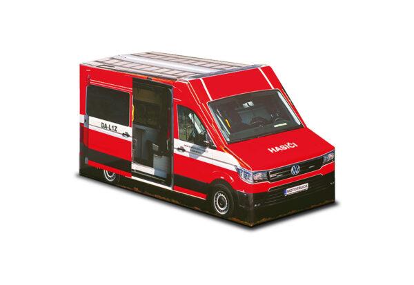 Truckbox Promotional Giftbox – Fire Truck, van