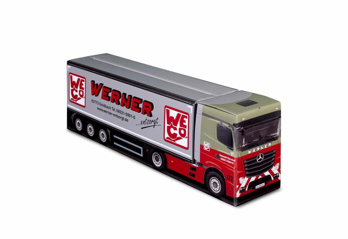 Truckbox Promotional Giftbox – Mercedes Benz Truck, Werner