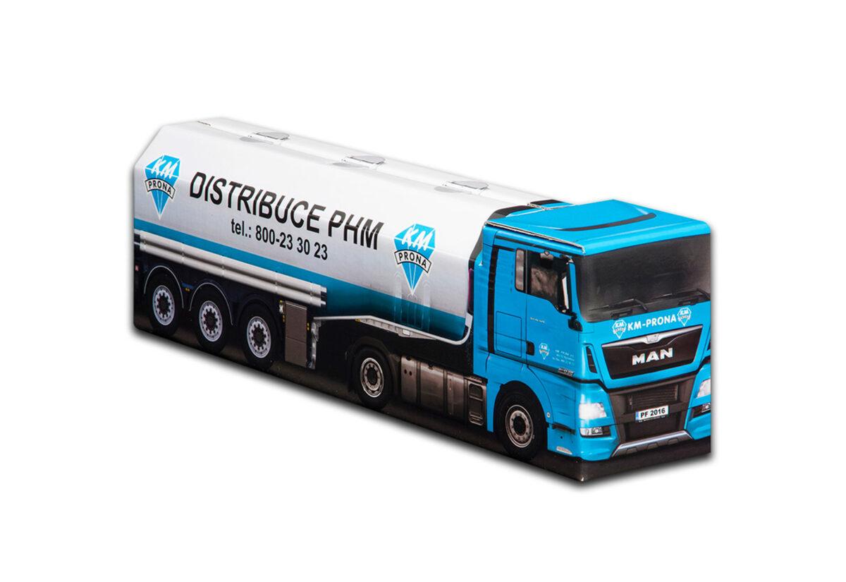 Truckbox Promotional Giftbox - Tank Truck MAN - KM Prona