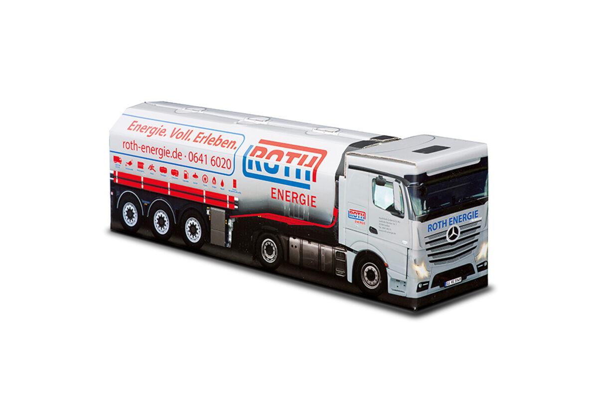 Truckbox Promotional Giftbox - Tank Truck Mercedes Benz- Roth Energie