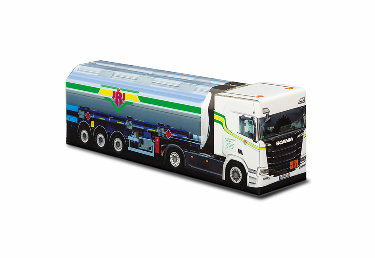Truckbox Promotional Giftbox - Tank Truck Scania - JŘJ