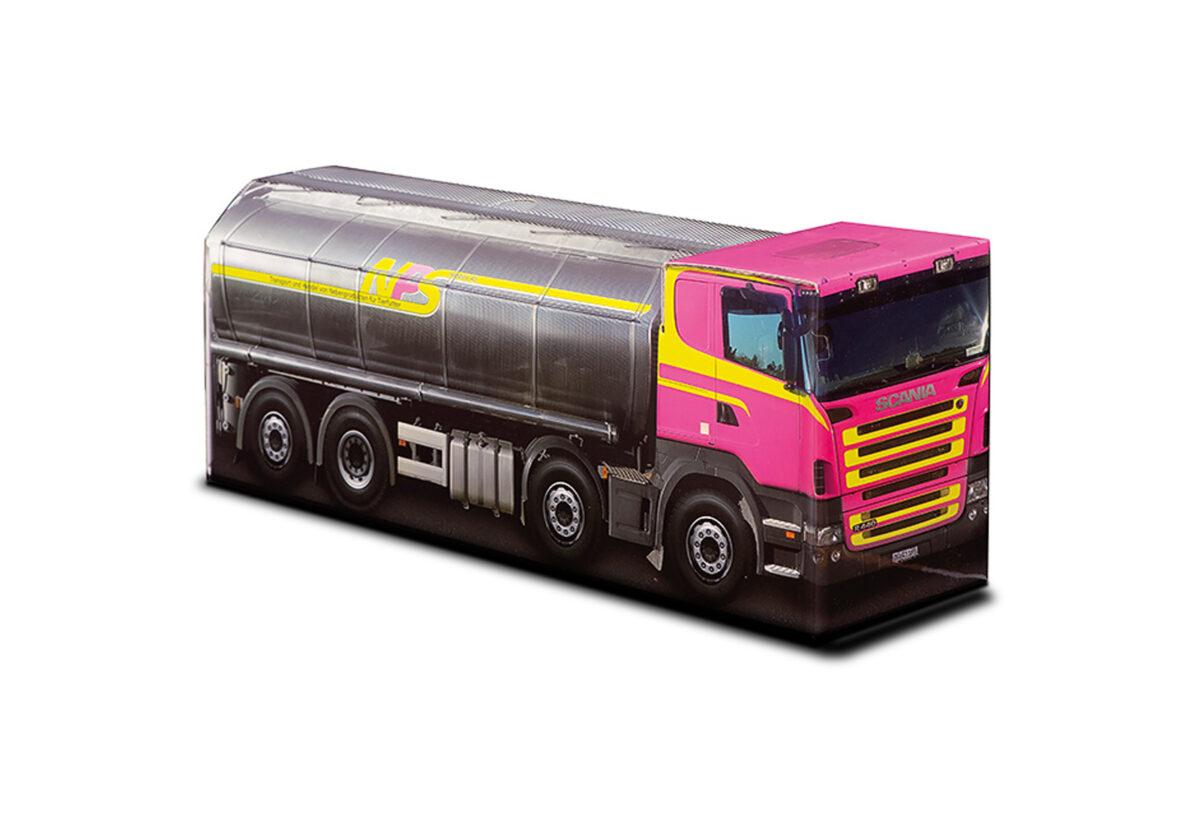 Truckbox Promotional Giftbox - Fuel Tank Truck Scania - NPS