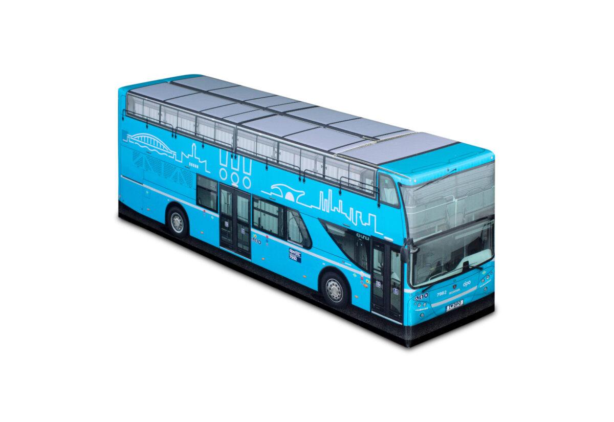 Truckbox Promotional Giftbox Bus Scania Unvi Urbis Doubledecker - Dopravní podnik Ostrava (DPO(