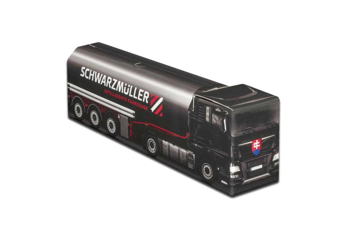Truckbox Promotional Giftbox - Fuel Tank Truck - Schwarzmüller