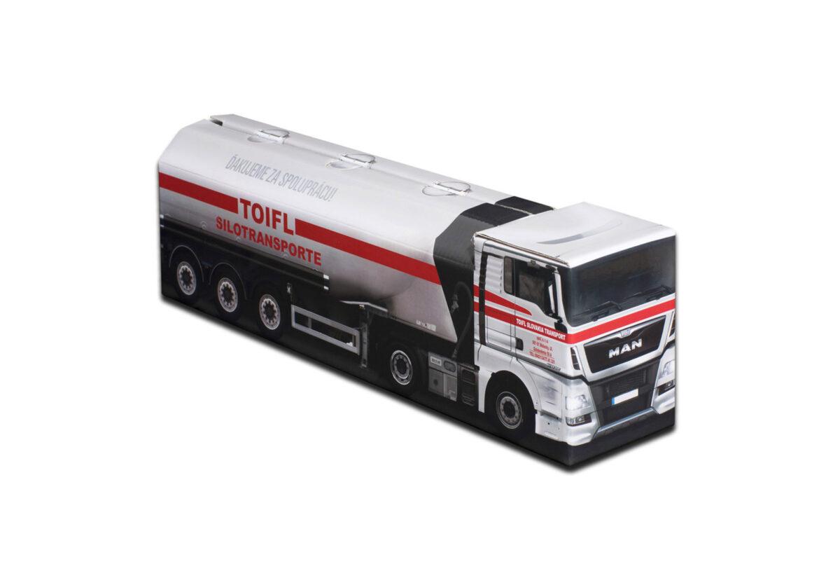 Truckbox Promotional Giftbox - Silo Truck MAN - TOIFL Silotransporte