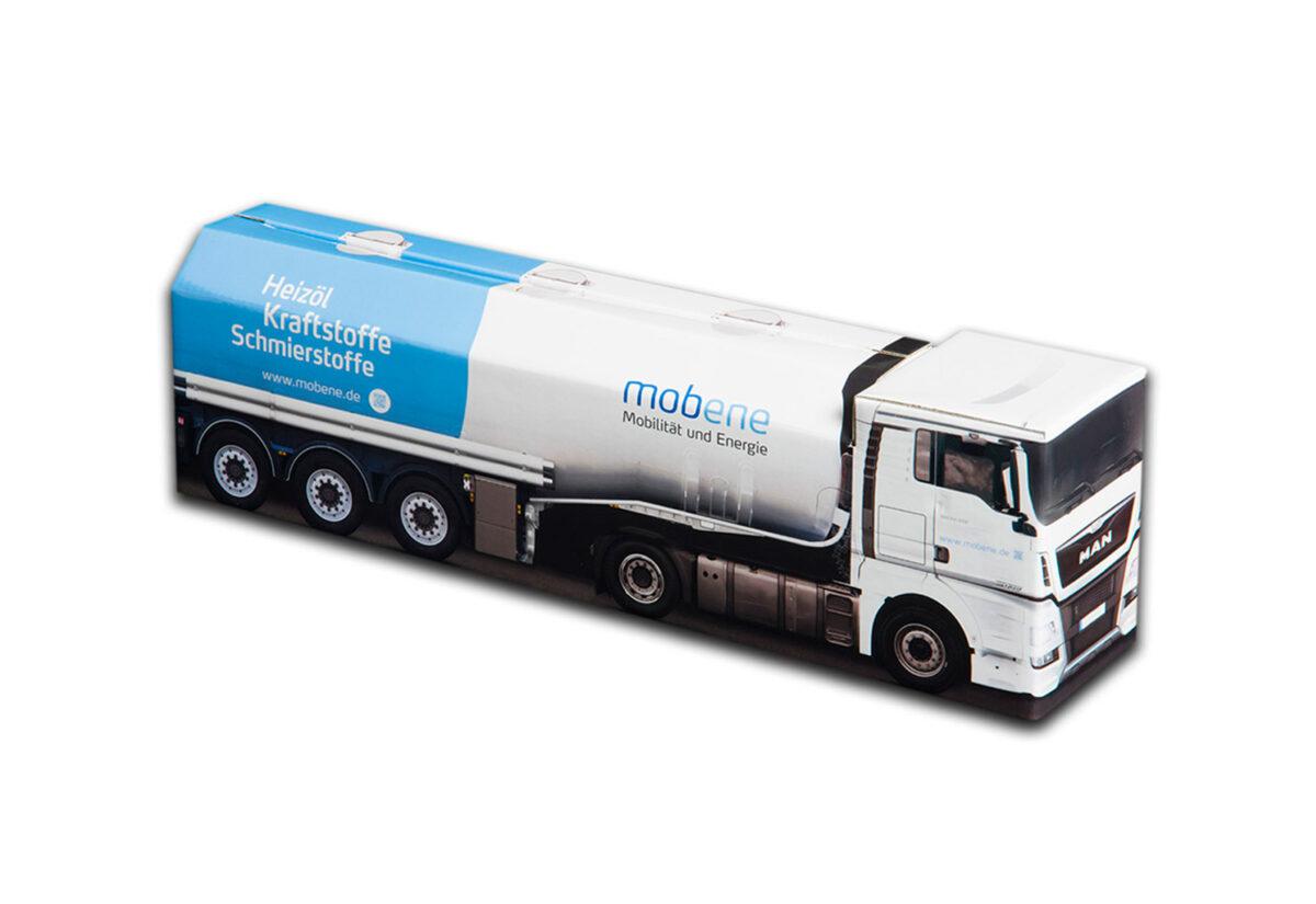 Truckbox Promotional Giftbox - Fuel Tank Truck MAN - Mobene