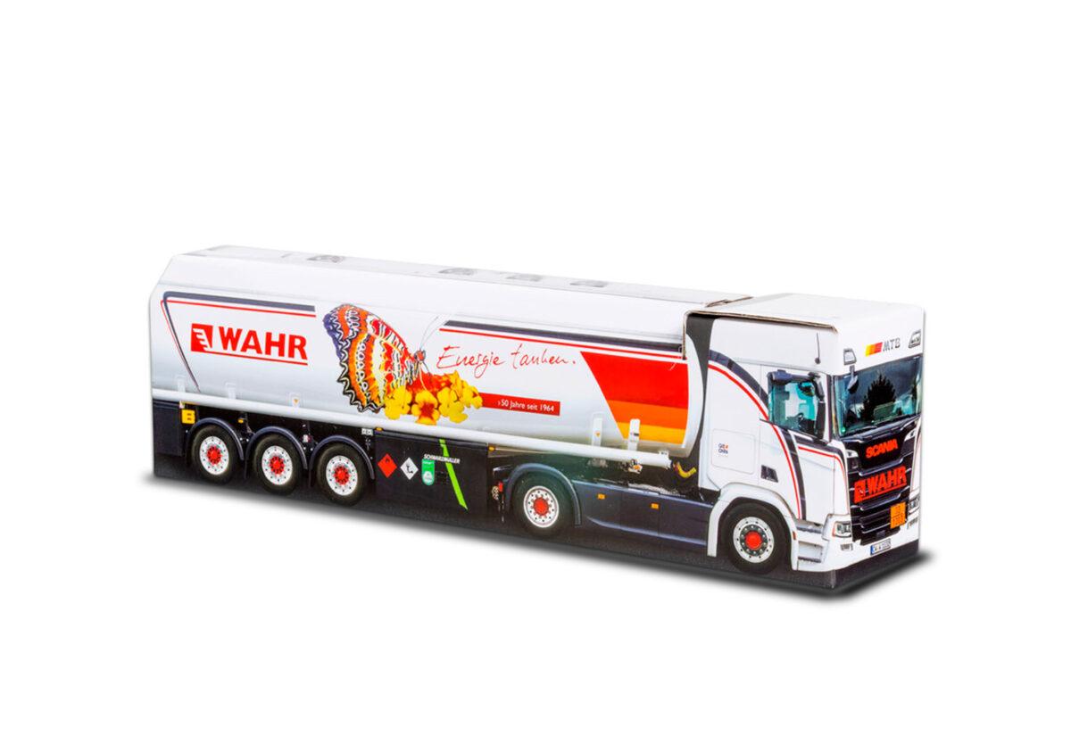 Truckbox Promotional Giftbox - Fuel Tank Truck Scania - Wahr