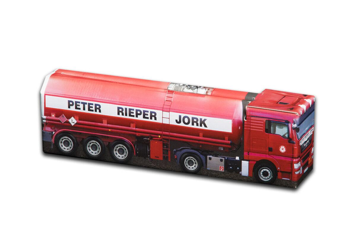 Truckbox Promotional Giftbox - Fuel Tank Truck MAN - Peter Rieper