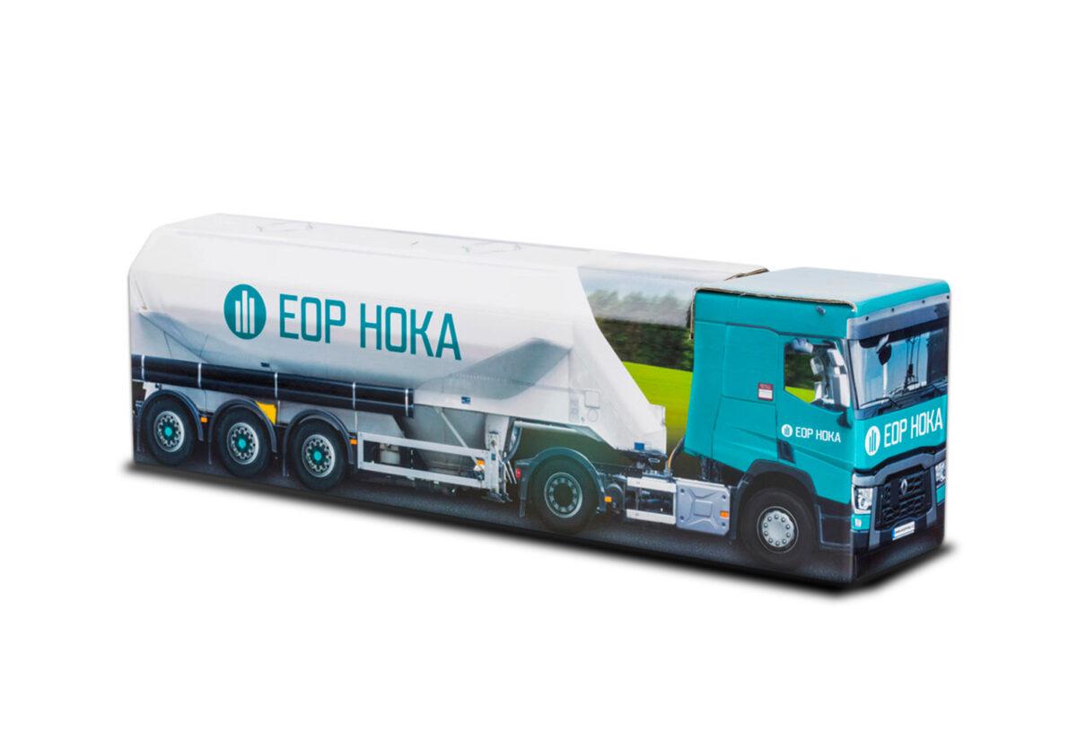Truckbox Promotional Giftbox - Silo Truck Renault - EOP HOKA