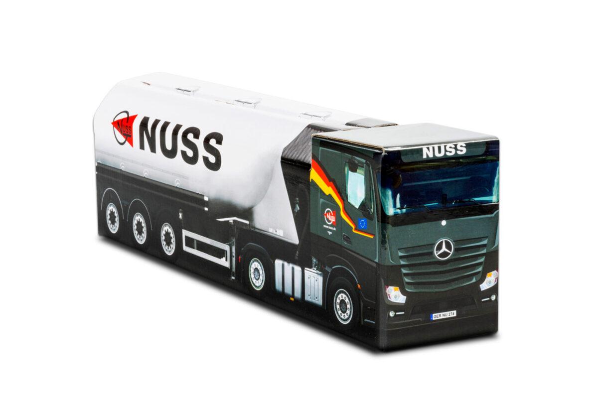 Truckbox Promotional Giftbox - Silo Truck Mercedes Benz - Nuss