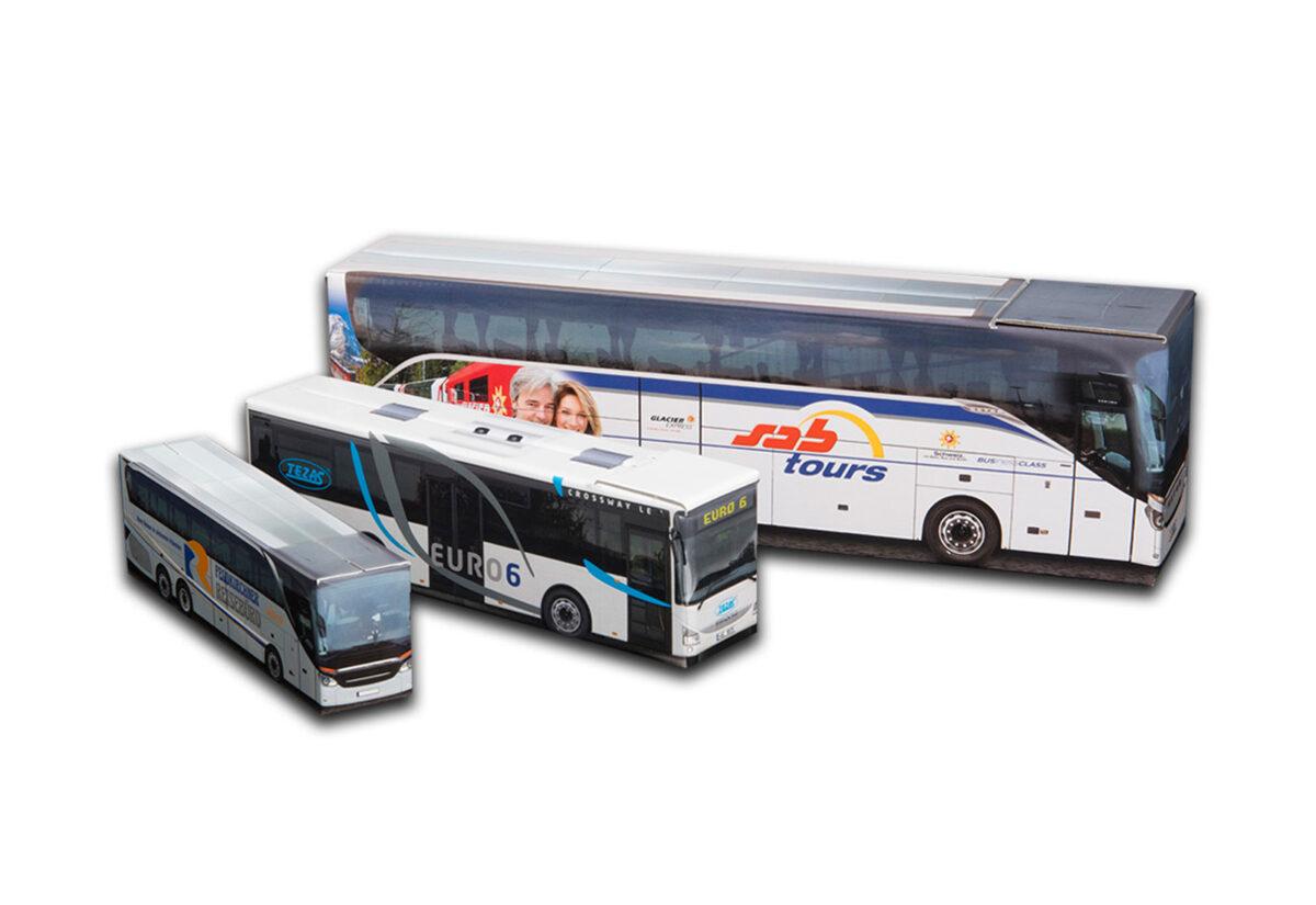 Truckbox Promotional Giftbox Bus Iveco & Setra