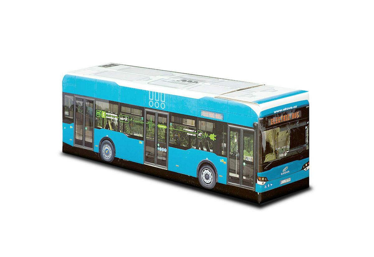 Truckbox Promotional Giftbox Bus Ekova electric bus