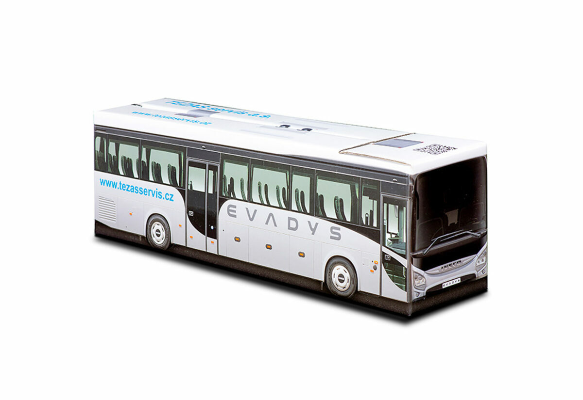 Truckbox Promotional Giftbox Bus Iveco Evadys - Tezas servis