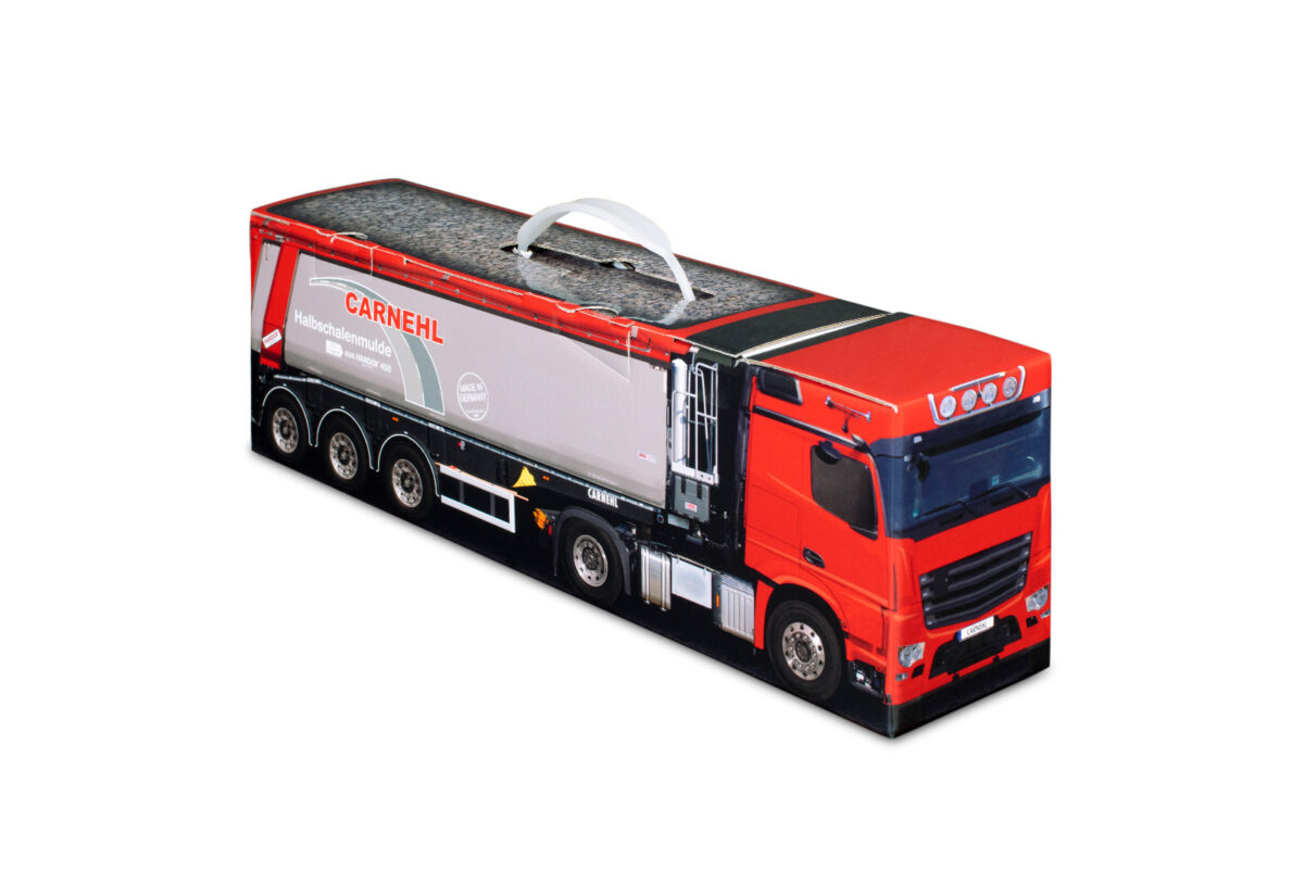 Truckbox Promotional Giftbox – Truck with tipper semitrailer - Carnehl