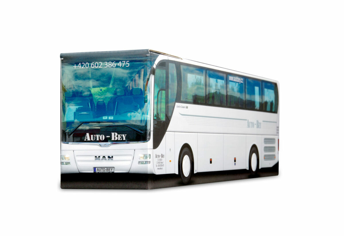 Truckbox Promotional Giftbox Bus MAN Travel Agency Auto Bey