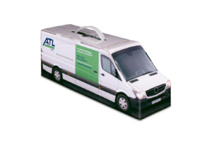Truckbox Promotional Giftbox – Mercedes Benz Sprinter Van, ATL Renting