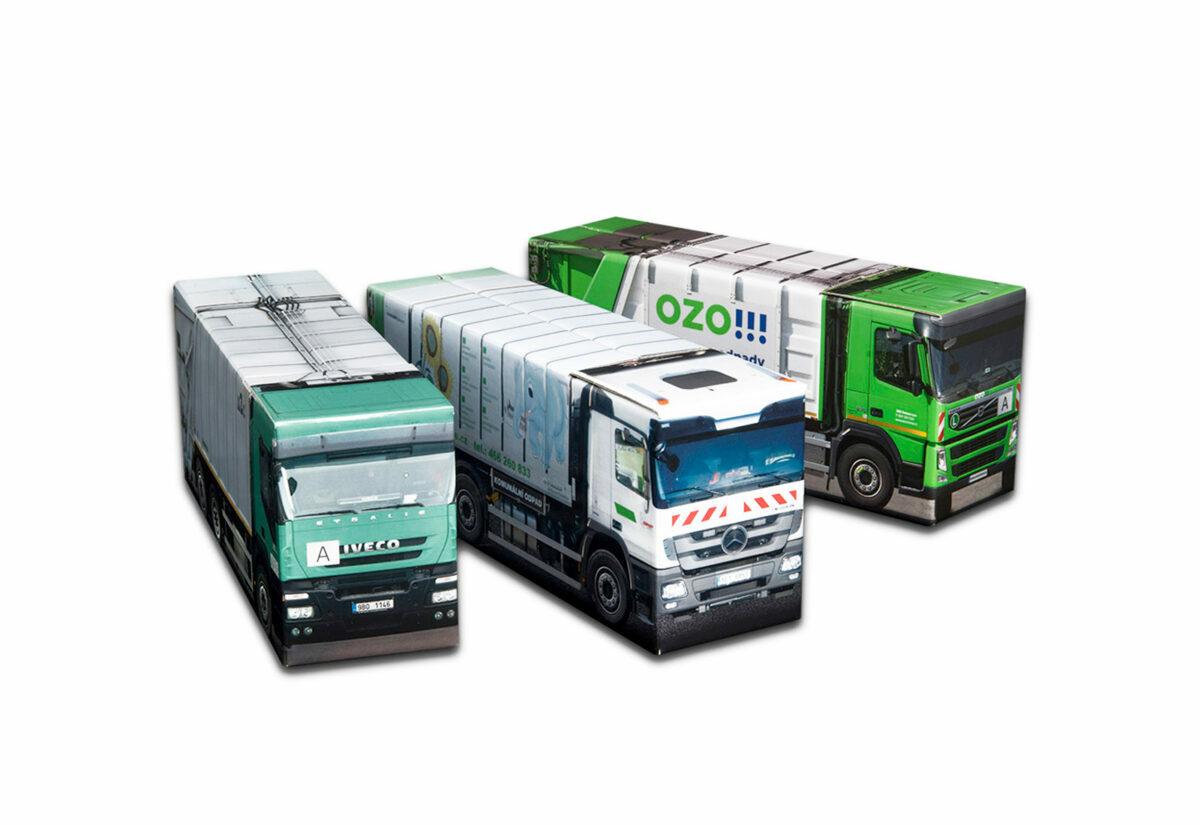 Truckbox Promotional Giftbox - garbage truck Iveco, Mercedes Benz, Volvo