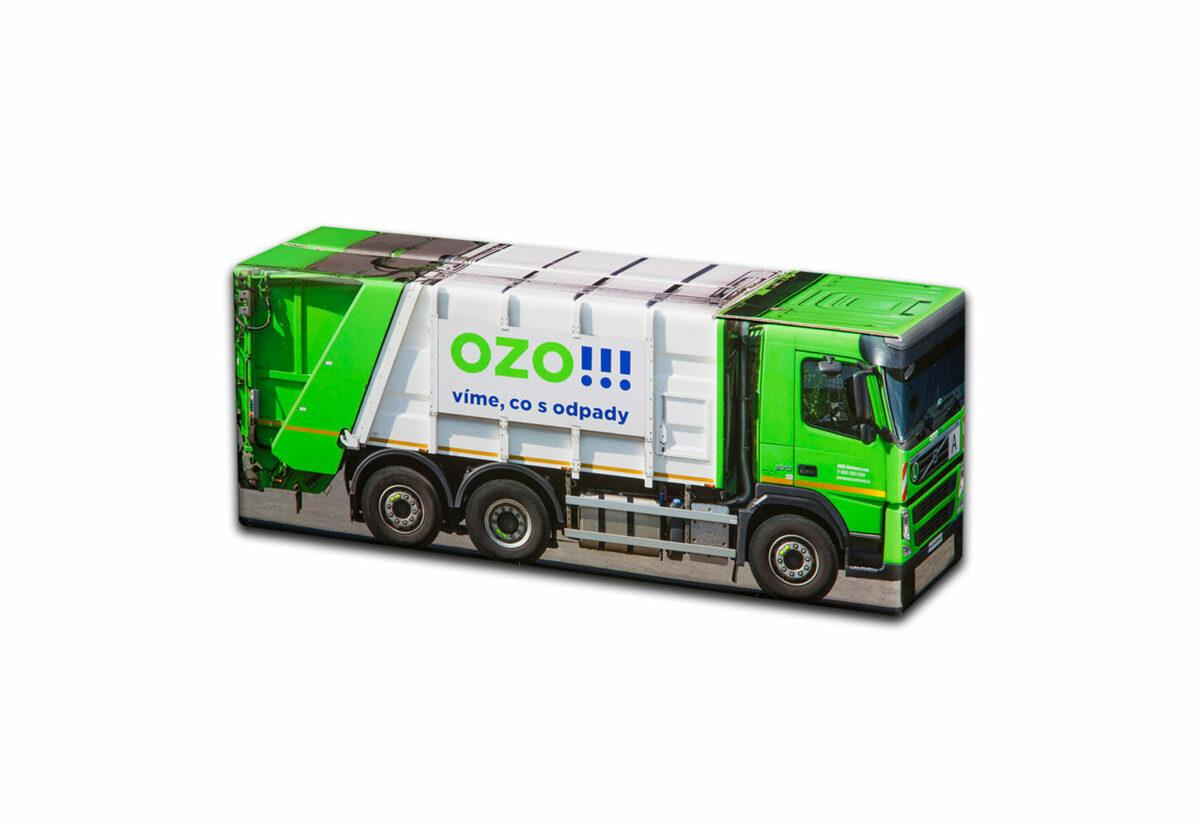 Truckbox Promotional Giftbox - garbage truck Volvo - OZO