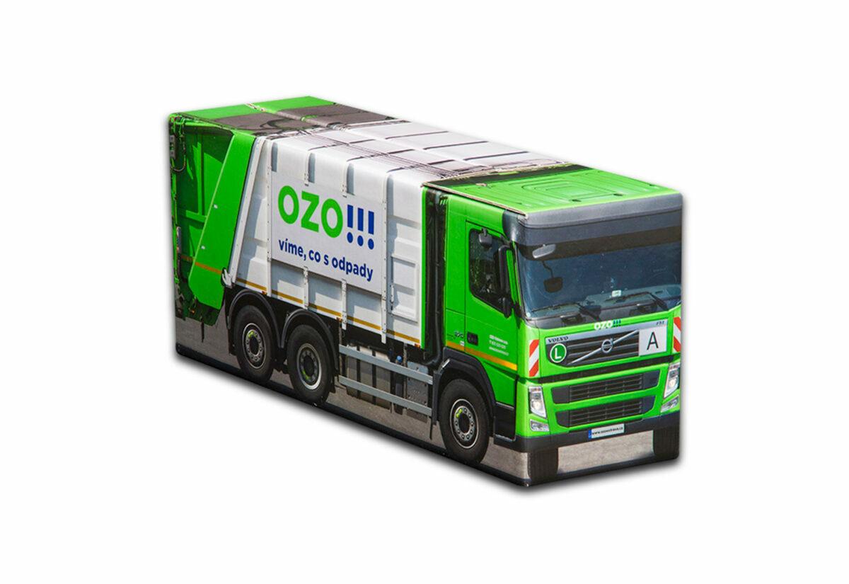 Truckbox Promotional Giftbox - Volvo garbage truck - OZO